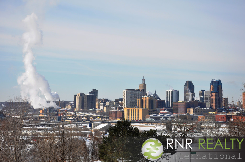 Downtown St. Paul skyline