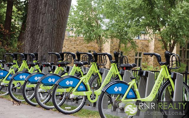Bikes in Uptown