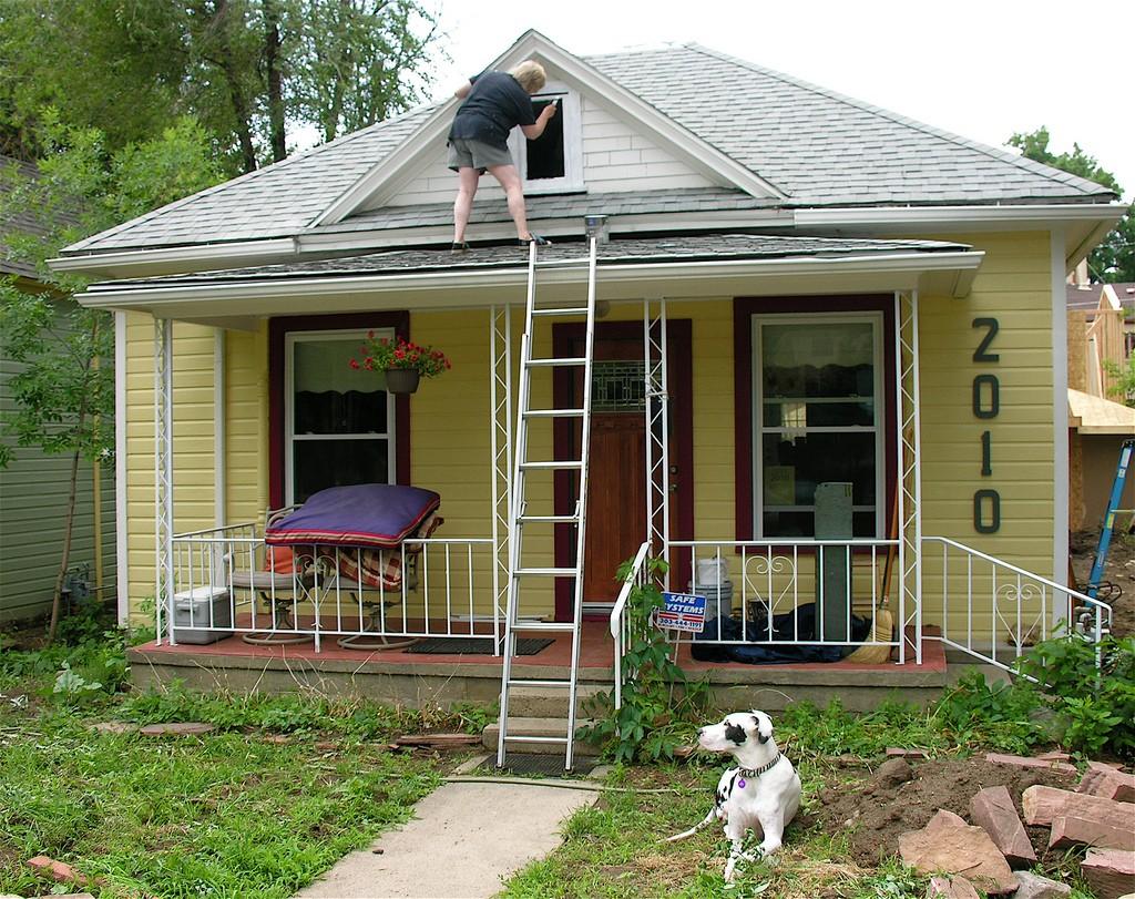 DIY home painting maintenance