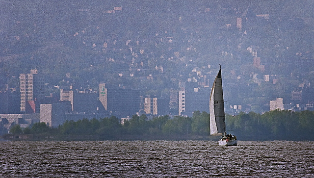 """Photo credit: """"Sailing to Duluth"""" © 2010 by Randen Pederson (CC BY 2.0)"""