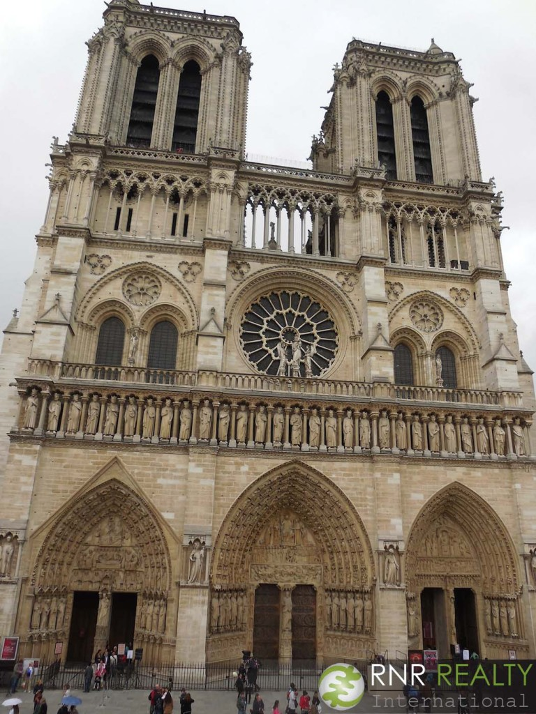 Notre Dame. Quasimodo wasn't there, but the gargoyles were. And of course, there were tourists – lots of tourists.
