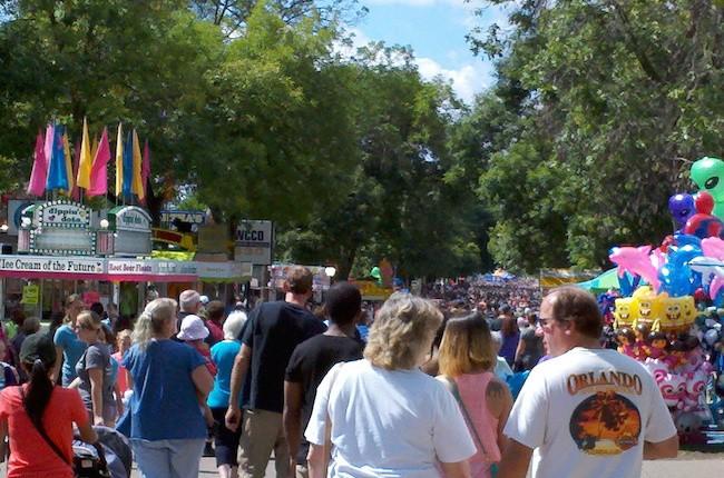 Festival, State Fair, Large Crowd