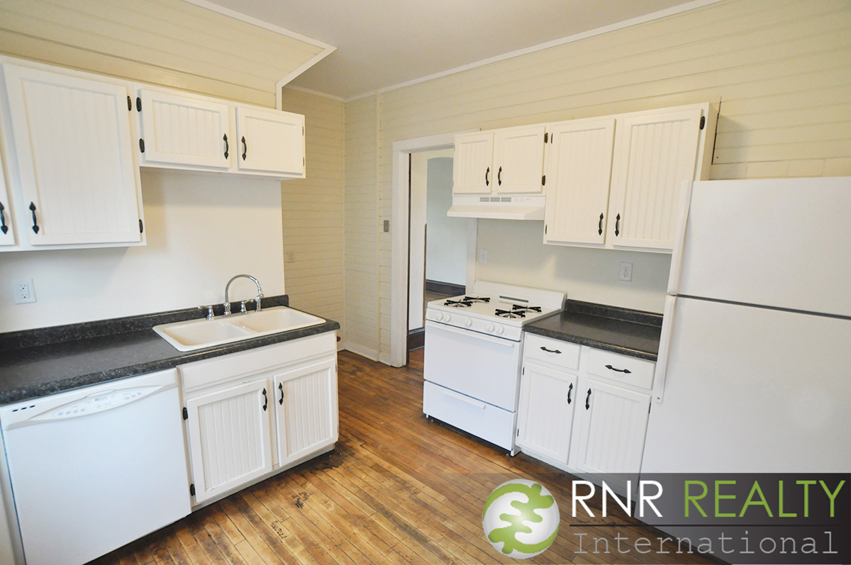 White Cabinets & Appliances